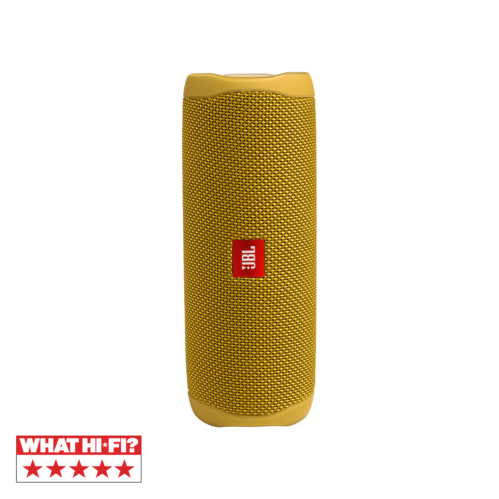 JBL FLIP 5 - Mustard Yellow - Portable Waterproof Speaker - Hero